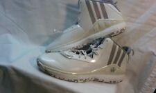 Adidas Adiprene + J Wall Basketball Shoe White/Silver Mens Size 15 New  D68975