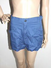 Mid-Rise Hand-wash Only Striped Shorts for Women