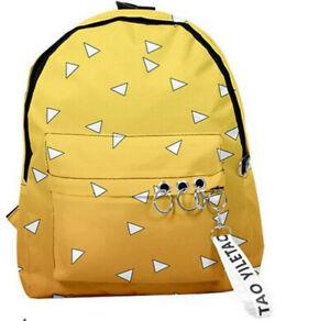 Anime Demon Slayer Backpack School Bag Package Christmas Gift Student Unisex