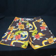 Corona Beer Mens Swim Suits Trunks Size L Draw String