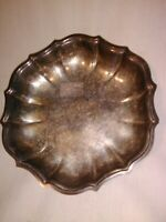 Vintage Chippendale Silverplate Serving Dish International Silver Co. Circa 1970