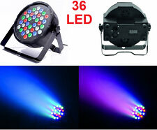Faro LED multicolor,strobo,fasci di luce colorata a ritmo di musica.DMX512 36 L