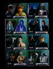 2016  Topps Star Wars  Evolution 100 card base set