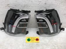 17 TESLA MODEL X 100D OEM FRONT LEFT RIGHT OEM FOGLIGHTS IN BUMPER 15-19