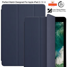 Case Cover For Apple iPad 2 / 3 / 4 Ultra Slim Leather Stand Flip Magnetic Smart