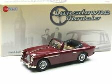 Lansdowne Models LDM 96a 1956 Aston Martin DB2/4 MKII Convertible maroon 1:43