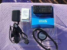 Sirius Satellite Radio Accessories Only Remote, Antenna, Car & Ac Charger, Guide