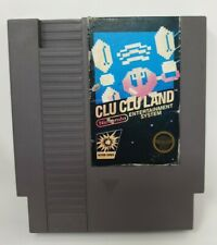 Clu Clu Land Nintendo NES Game Original Cartridge Cart Working Tested
