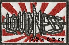 Loudness - patch - FREE SHIPPING