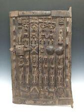 TRIBAL ART, AFRICAN ART DOGON GRANARY DOOR FROM MALI
