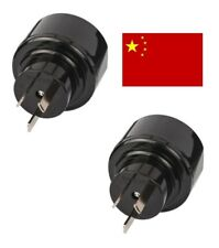 2 x Reisestecker Australien China Travel Reise Adapter Plug Stecker brennenstuhl