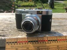 Voightlander Vito B Color Skopar 1:3.5/50 Camera With Case