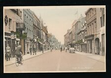 Beds Bedfordshire BEDFORD High St c1940s WW2 PPC by Miller & Lang