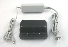 USA SELLER New Wii U GamePad Charge Cradle WUP-014 WITH AC Adapter Power WUP-011