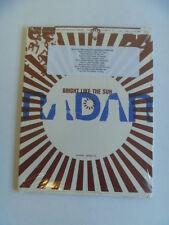 RADAR BRIGHT LIKE THE SUN PROMO PACK CD SEALED + FREEPOST