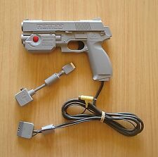 Pistola / Mando Namco NPC-103 Sony Playstation 1 + Multi Out (Original) (PS1)