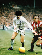 Peter Lorimer-Leeds United LEGEND-Superbo firmato Fotografia a colori