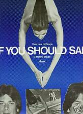 Nielsen Pearson Promo Poster Ad If You Should Sail mint