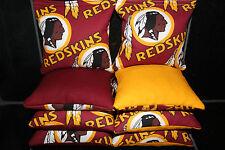 Washington Redskins Set of 8 Cornhole Bean Bags FREE SHIPPING