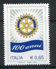ITALIE 2005, timbre EVENEMENT, 100° ANNIVERSAIRE ROTARY INTERNATIONAL, neuf**