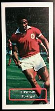 PORTUGAL - BENFICA - EUSEBIO - Score UK football trade card