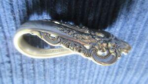 Grande Baroqie Wallace Original Napkin Clip Mint! Gift Presentation Condition!