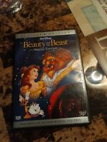 Beauty and the Beast DVD 2 Disc Special Edition Platinum Edition Walt Disney