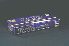 "1100 NEW ""CARBON"" EMPTY ROLLO TUBES Cigarrette Tobbacco Filter Ventti"