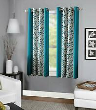 New Polyester Window Curtain Home Decor 4 x 5 feet- Set of 2