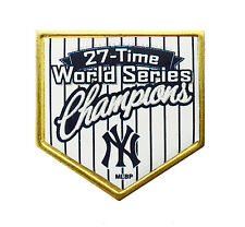 New York Yankees 27 Time World Series Champions Raised Glossy Home Plate Pin