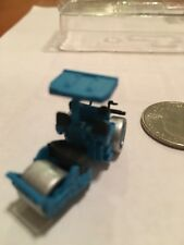 Fujimoto   N Scale 1/150 :Steam Roller Blue Color ) With Details And Decals Nice