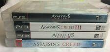 Assassins Creed lot of 5 PS3 Games