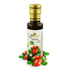 Orgánica certificada prensado en frío rosa Mosqueta Oil 100ml biopurus