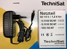 TechniSat 15V DC 1,2A Netzteil 0000/3234 für TechniSwitch 5/8 G2 9/8 G2  neu