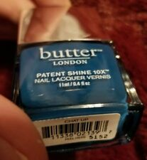 NEW! Butter London Patent Shine 10X in CHAT UP Nail Vernis Polish