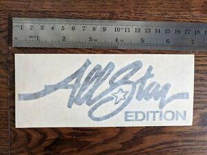 All Star Edition Sticker Decal