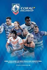 2019 CORAL CHALLENGE CUP SEMI-FINAL PROGRAMME
