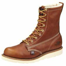 "Thorogood 814-4009 Heritage Plain Work Boot (8"" Inch Waterproof, Insulated, USA)"