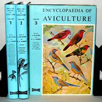 Encyclopaedia of Aviculture - 3 Volume Set - HB/DJ, Blandford. 1979