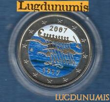 2 euro Commémo Couleur Color - Finlande 2007 Indépendance Finland