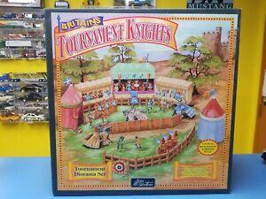 Britains 08761 Tournament  Medieval Knights Diorama Set 1/32 Brand New  in Box
