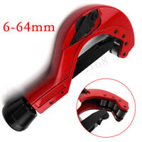 6-64mm  Range Quick Release Plastic PVC Tube Pipe Cutter Precision Action  O
