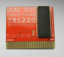 Commodore 64 128 Dead Test Diagnostic Cartridge rev 781220 - GOLD -  PROMO