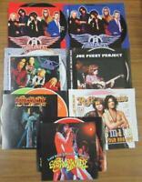 Aerosmith 2004 Japan Performance Tokyo Dome Taste Of Rarities Press CD 10 Discs
