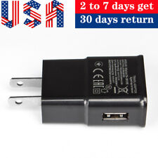 US Plug 5V 1A AC USB Charger Wall Power Adapter for Mobile Phone Portable Travel