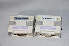 2x Agilent N2647mm 850 1300 Multimode Optical Fiber Modules For Wirescope Pro