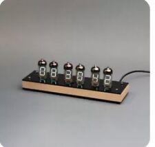 Iv-11 Vfd Tube Clock Diy educational soldering Kit Wood case Gift cool vintage
