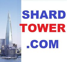 The Famous Domain Shard Tower Com London Shop Office Hotelwebsite Investment