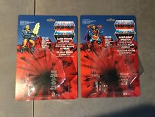 MOTU Laser Light & Power He Man Skeletor REPRODUCTION CARDBACK KIT