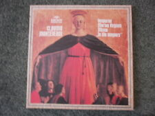 Monteverdi Vesperae Mariae Virginis archiv 3XLP 2723043 German press NM w/book